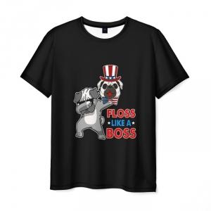Merch T-Shirt Floss Like A Boss Dog