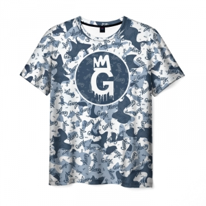 Merchandise Men'S T-Shirt Gta 5 Online Guffy Style Blue