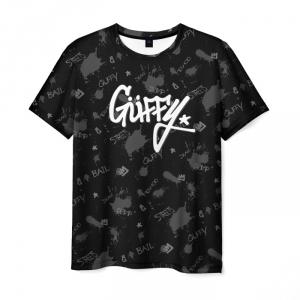 Merchandise Men'S T-Shirt Gta 5 Online Guffy Style Black