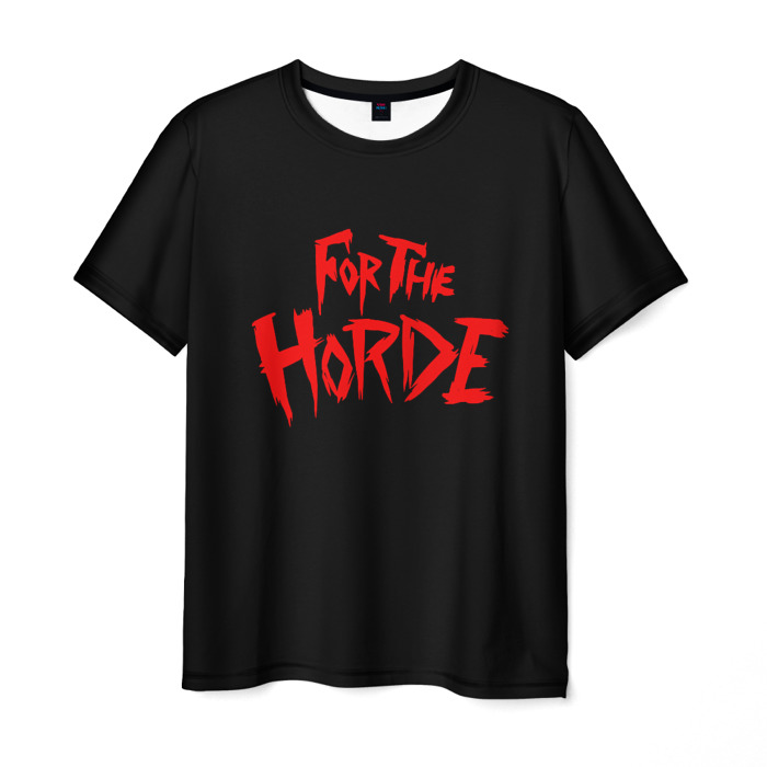 Collectibles Men'S T-Shirt For The Horde Sign World Of Warcraft