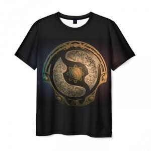 Merchandise Men'S T-Shirt Aegis Print The International Dota 2