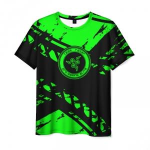 Merch Men'S T-Shirt Pro Gamer Elite Print Green