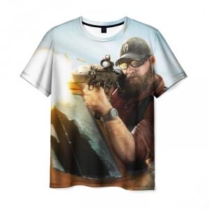 Merchandise Men'S T-Shirt Ghost Recon Game Art