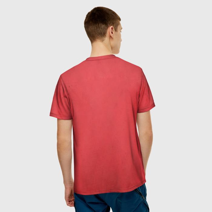 Merchandise T-Shirt Wolfenstein Red Drawing Print