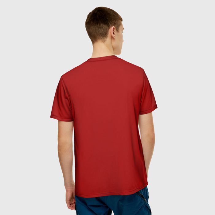 Collectibles T-Shirt Wolfenstein Red Hero Print