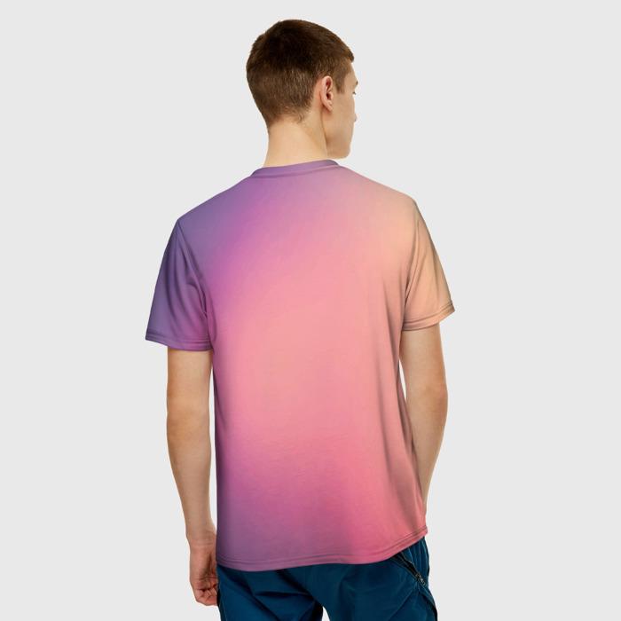 Merchandise T-Shirt Gradient Counter Strike Design