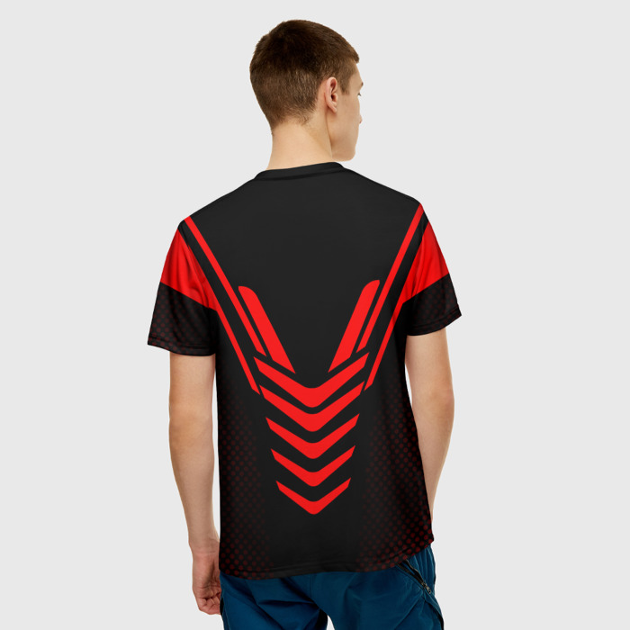 Merch T-Shirt Black Figure Counter Strike Apparel