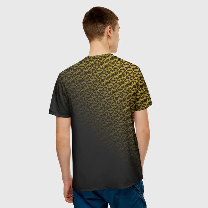 Merch T-Shirt Text Rainbow Six Siege Diamond