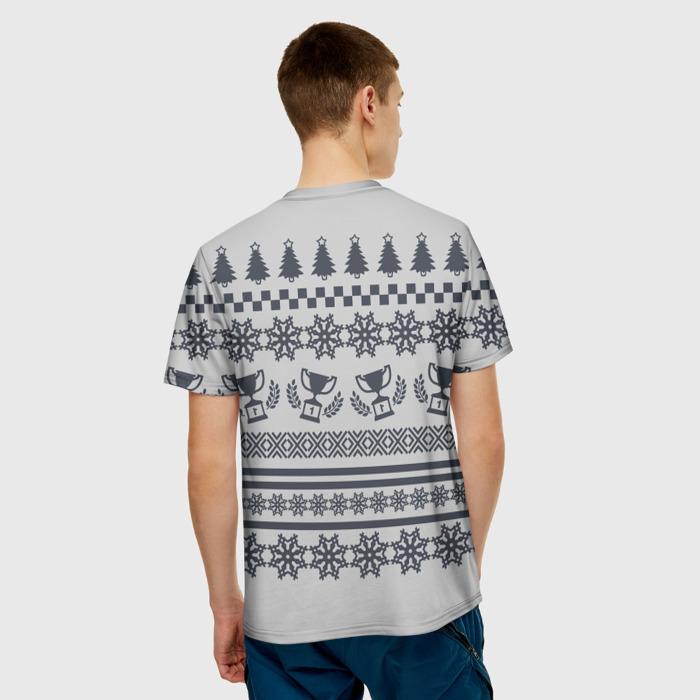 Collectibles T-Shirt Pattern White Emblem Team Liquid