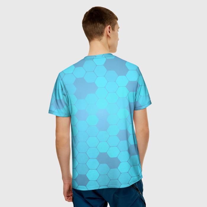 Merch T-Shirt Blue Print Detroit Become Human