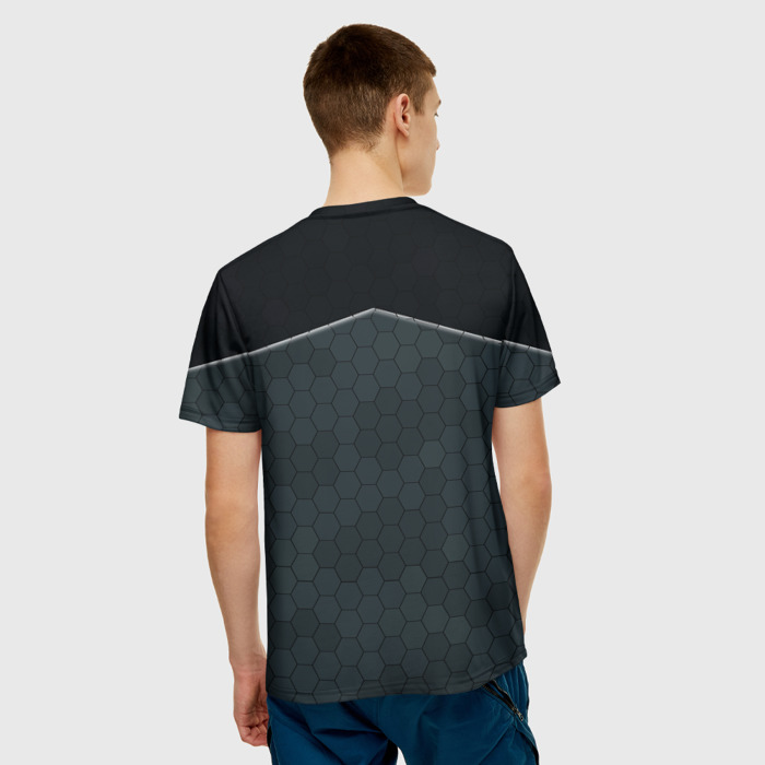 Merchandise T-Shirt Black Security Detroit Become Human
