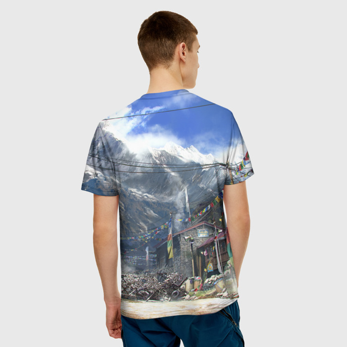 Collectibles T-Shirt Landscape Print Far Cry Merch
