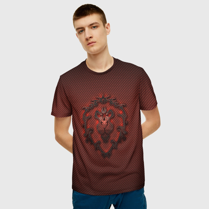 Collectibles T-Shirt World Of Warcraft Brown Emblem Art