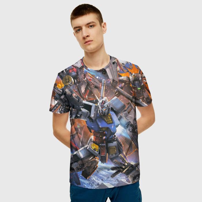 Merchandise T-Shirt Transformers Scene Print Merch