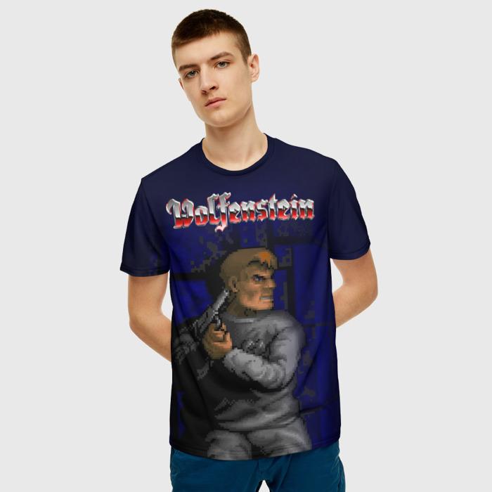 Collectibles T-Shirt Wolfenstein Scene Print Merch