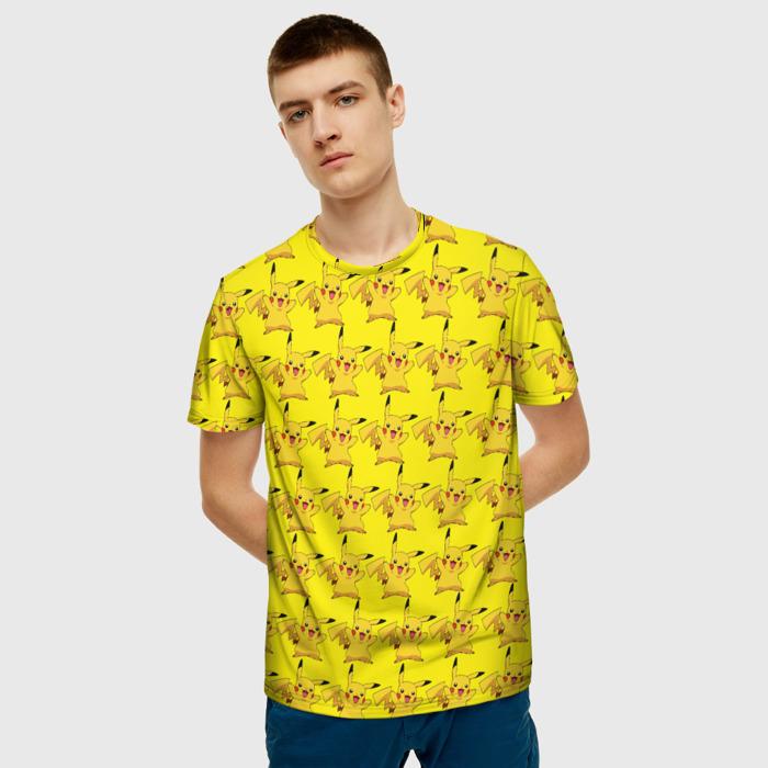 Merchandise T-Shirt Pikachu Pokemon Yellow Art