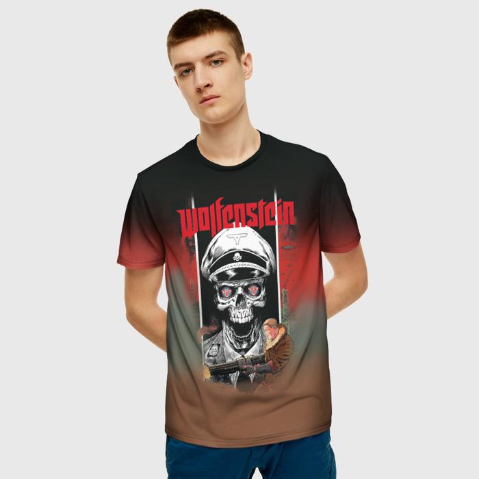 Merch T-Shirt Wolfenstein Muzzle Art Clothes