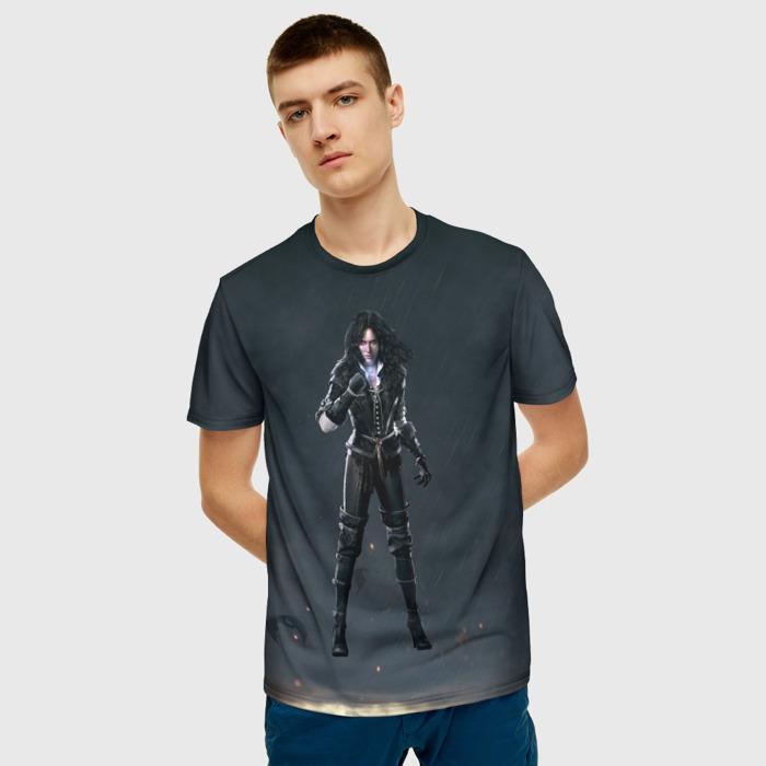 Merchandise T-Shirt Yennifer The Witcher Black Hero