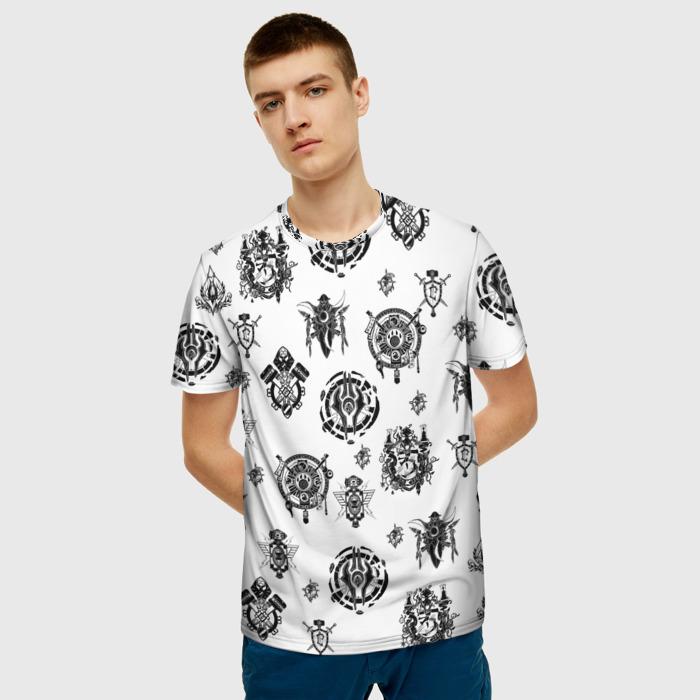 Collectibles T-Shirt World Of Warcraft Pattern White