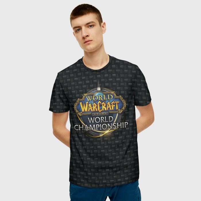 Merch T-Shirt World Of Warcraft Emblem Pattern