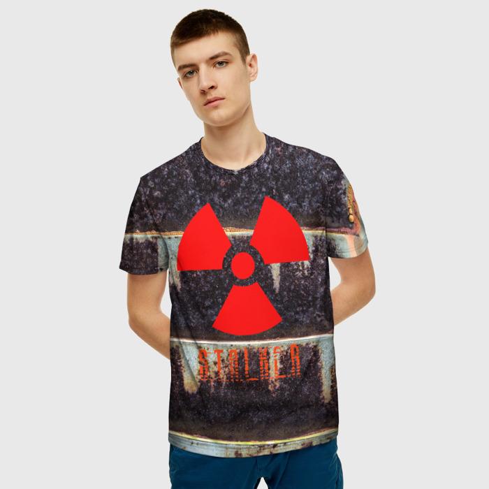 Merchandise T-Shirt Game Stalker Emblem Print