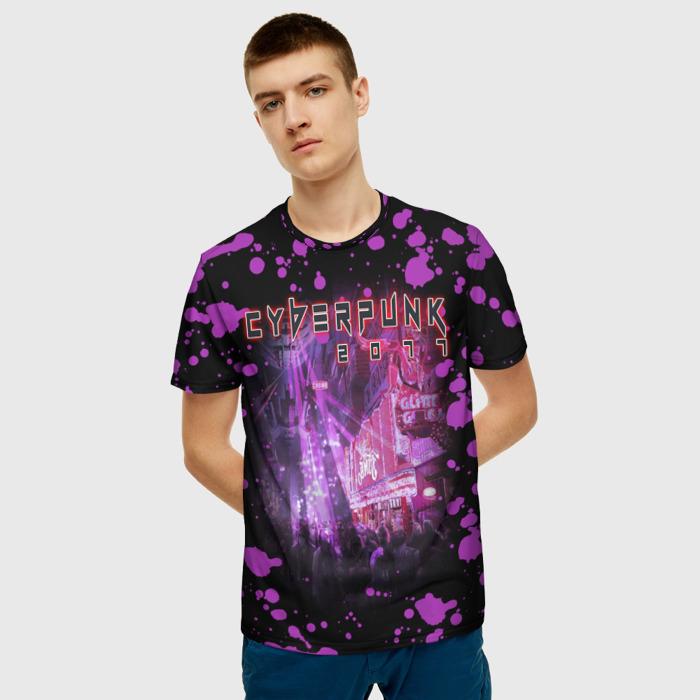 Collectibles T-Shirt Pattern Spots Pink Cyberpunk