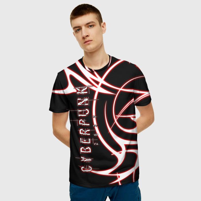Merch T-Shirt Title Cyberpunk Design Apparel