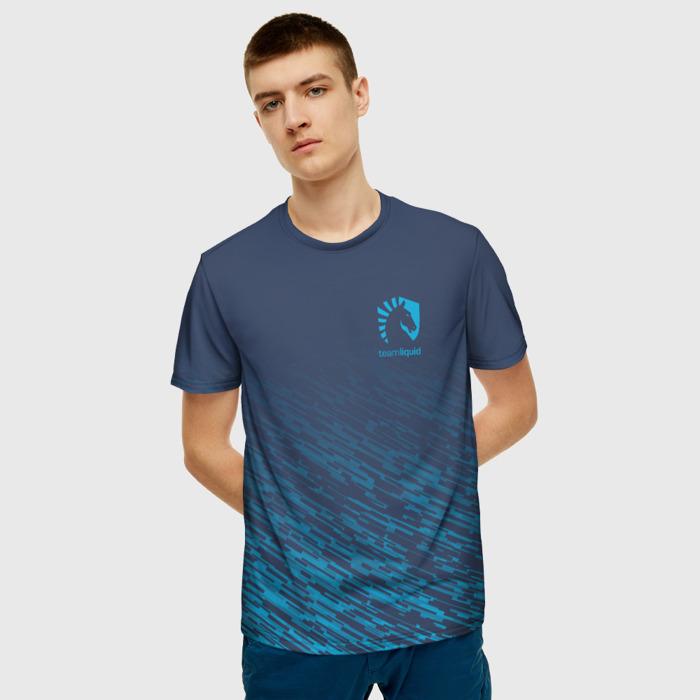 Collectibles T-Shirt Game Graphic Print Team Liquid E-Sport