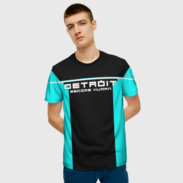 Collectibles T-Shirt Clothes Title Print Detroit Become Human