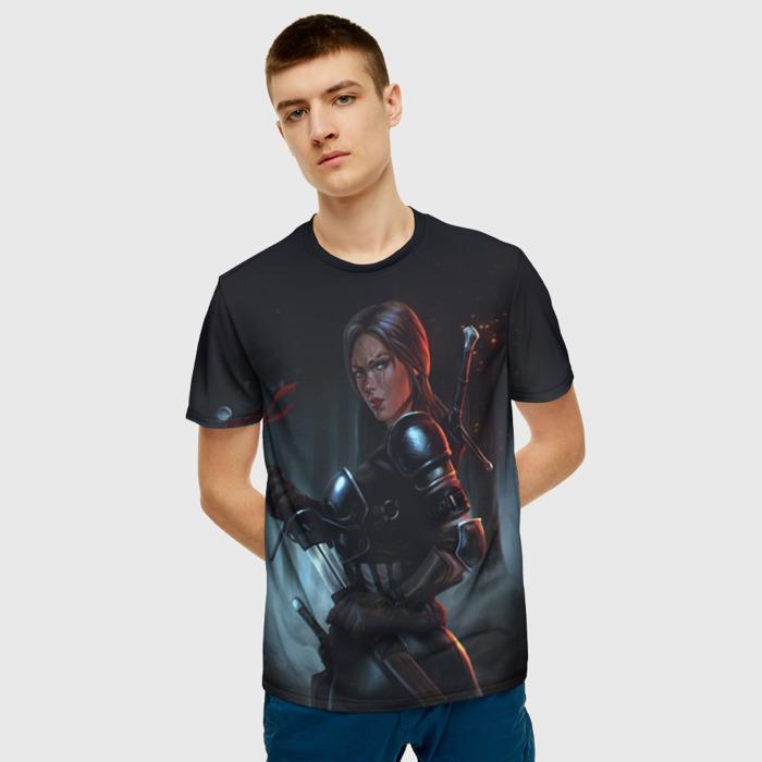 Collectibles T-Shirt Wild Hunt Witcher Print Scene