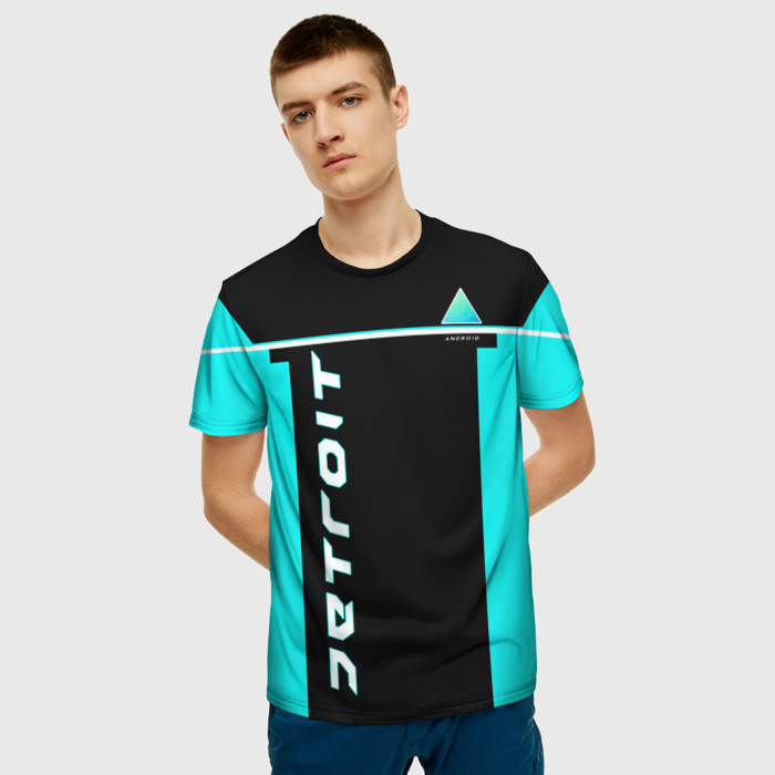 Collectibles T-Shirt Game Print Text Become Human