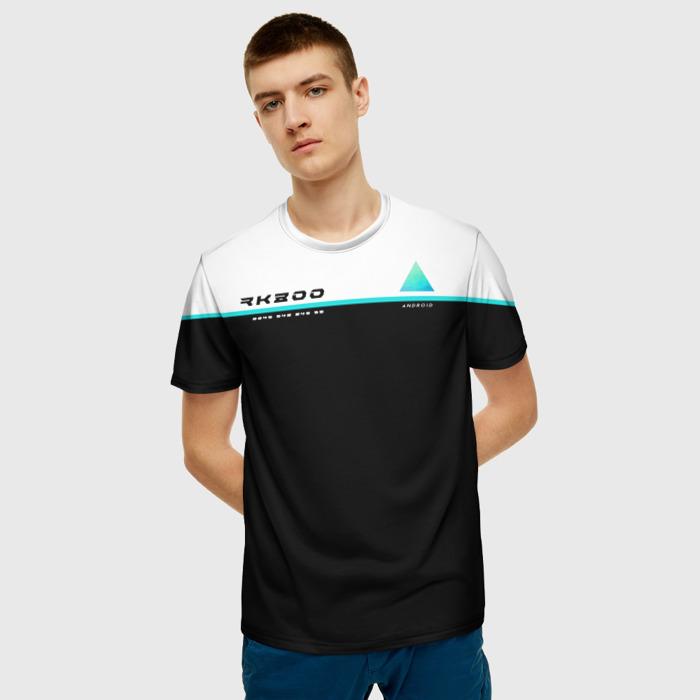 Merch T-Shirt Inscription Print Detroit Become Human