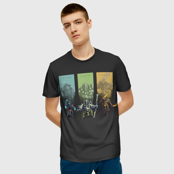 Merchandise T-Shirt Image Design Black Dota