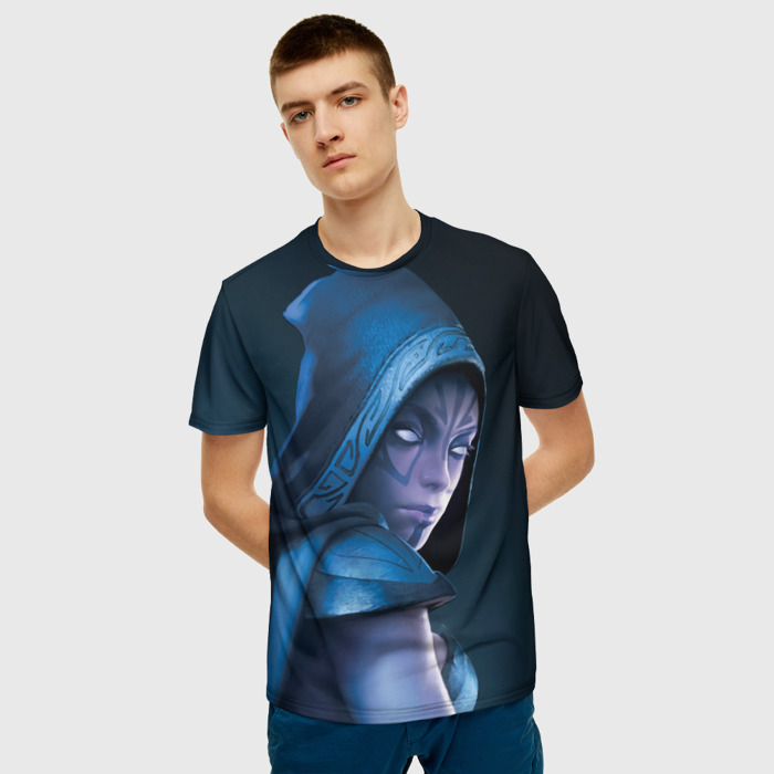 Merch T-Shirt Game Dota Drow Ranger Print