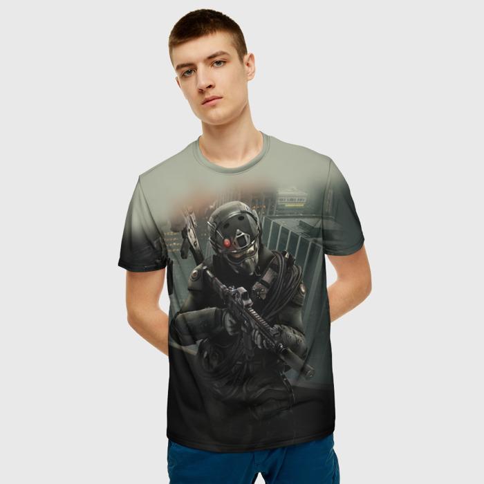 Merchandise T-Shirt Scene Design Rainbow Six Siege Weapon