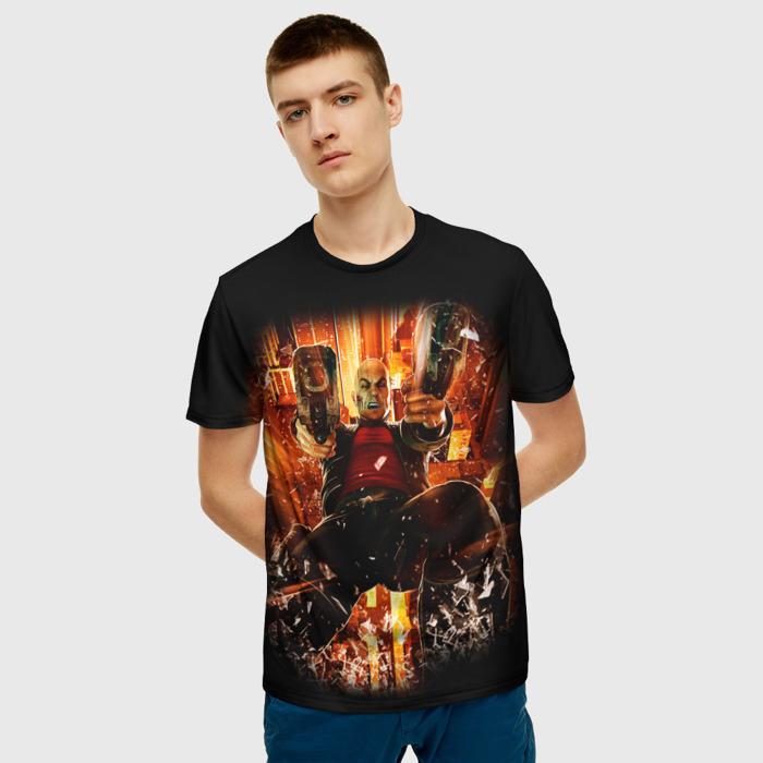 Merch T-Shirt Black Print Hitman Design