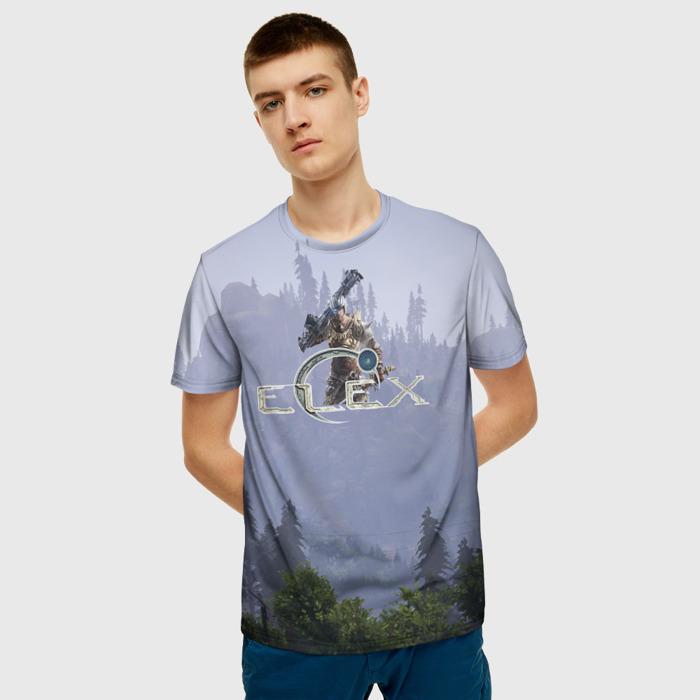 Merch T-Shirt Print Elex Merchandise Design