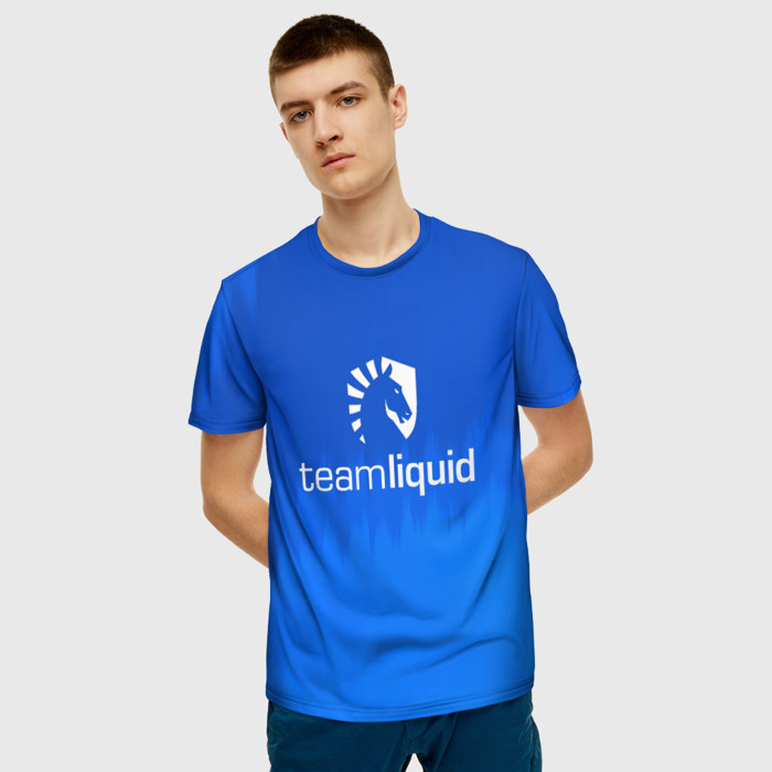 Merchandise T-Shirt Apparel Team Liquid E-Sport Blue