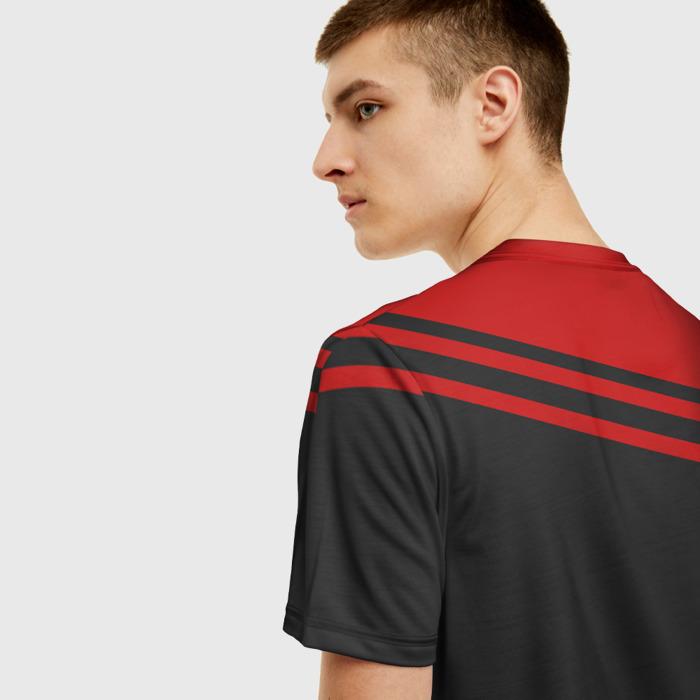 Merchandise T-Shirt Red Counter Strike Apparel Print