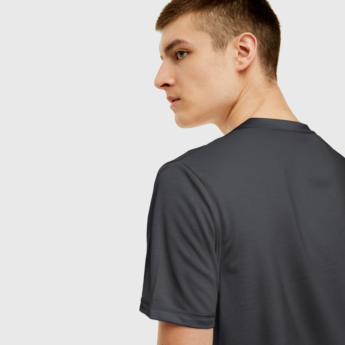 Merchandise T-Shirt Mid Feed Dota Gray Print