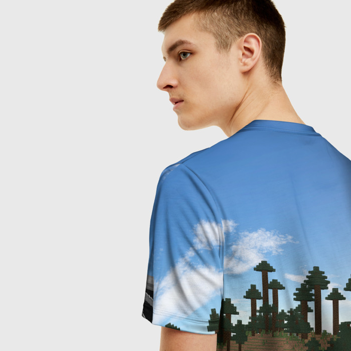 Collectibles T-Shirt Stive Ender Minecraft Dragon Scene