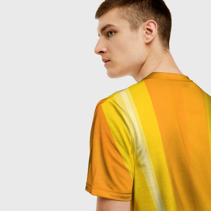 Merchandise T-Shirt World Of Warcraft Yellow Hero