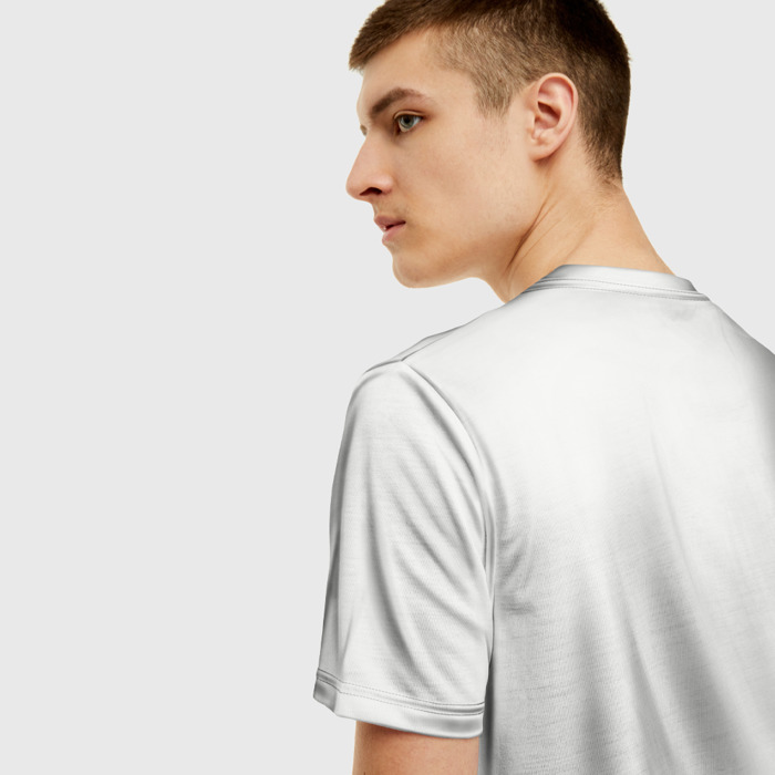 Merch T-Shirt Title Anthem White Print