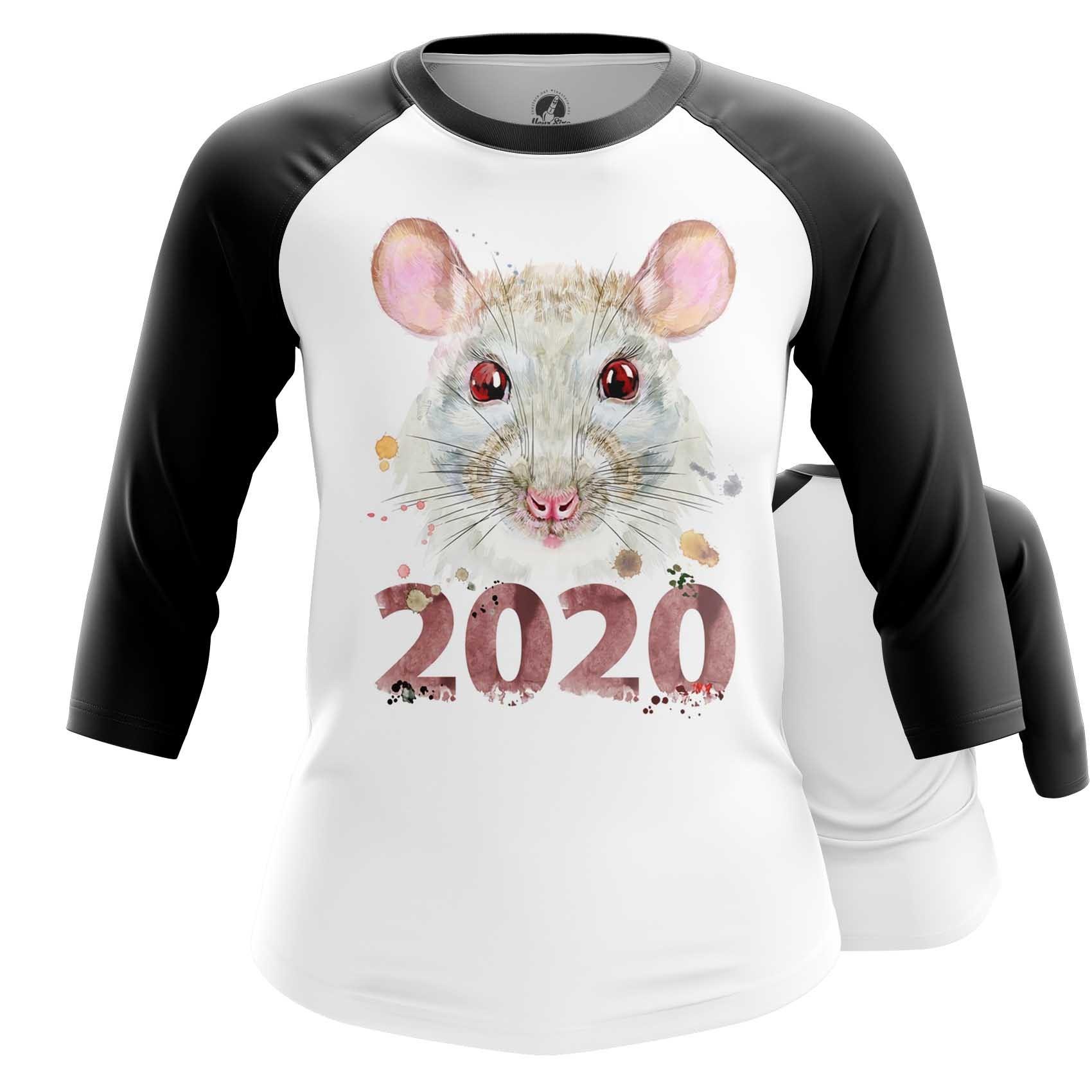 Merch Women'S Raglan New Year 2020 Symbols