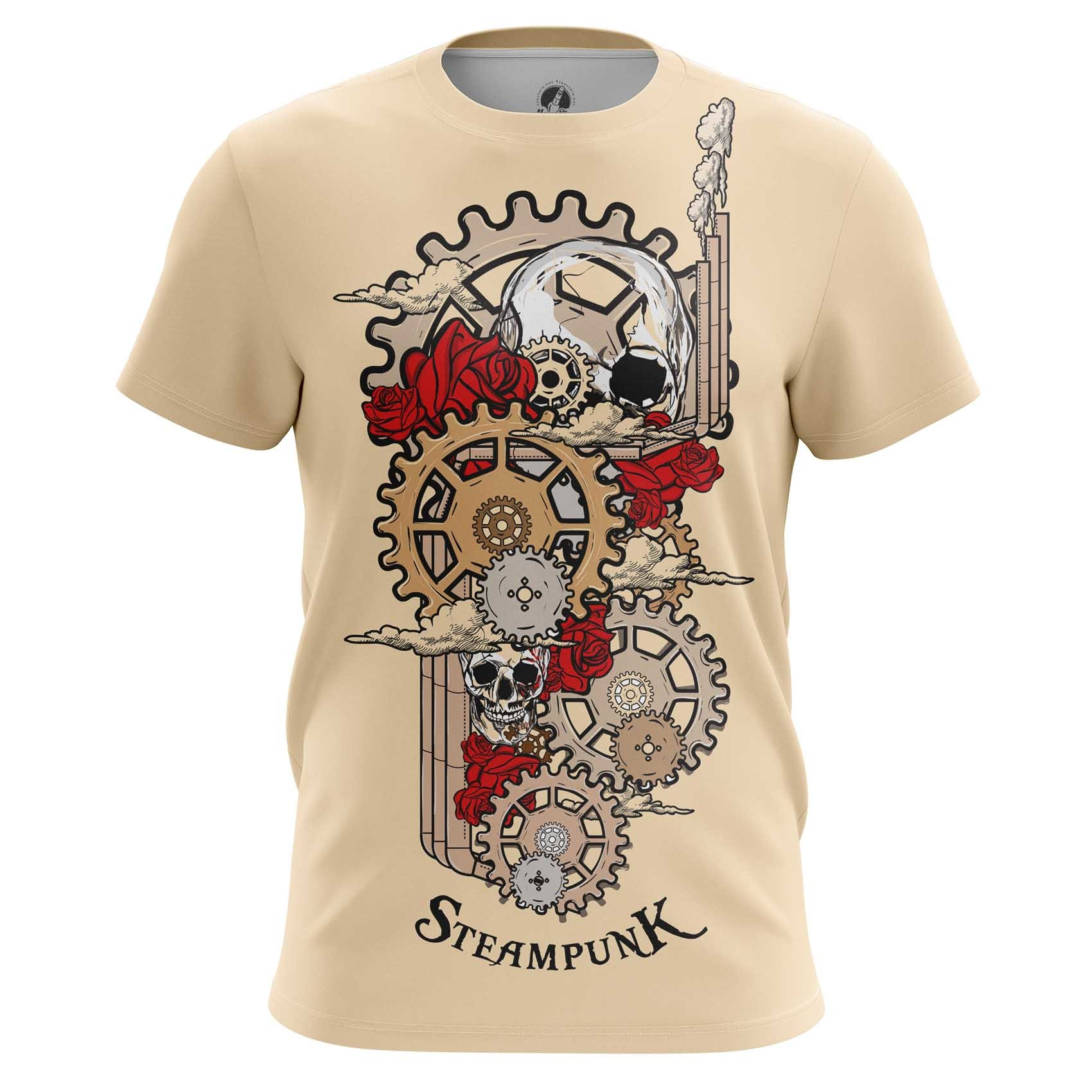 Merch Men'S Tank Steampunk Mechanism Print Vest