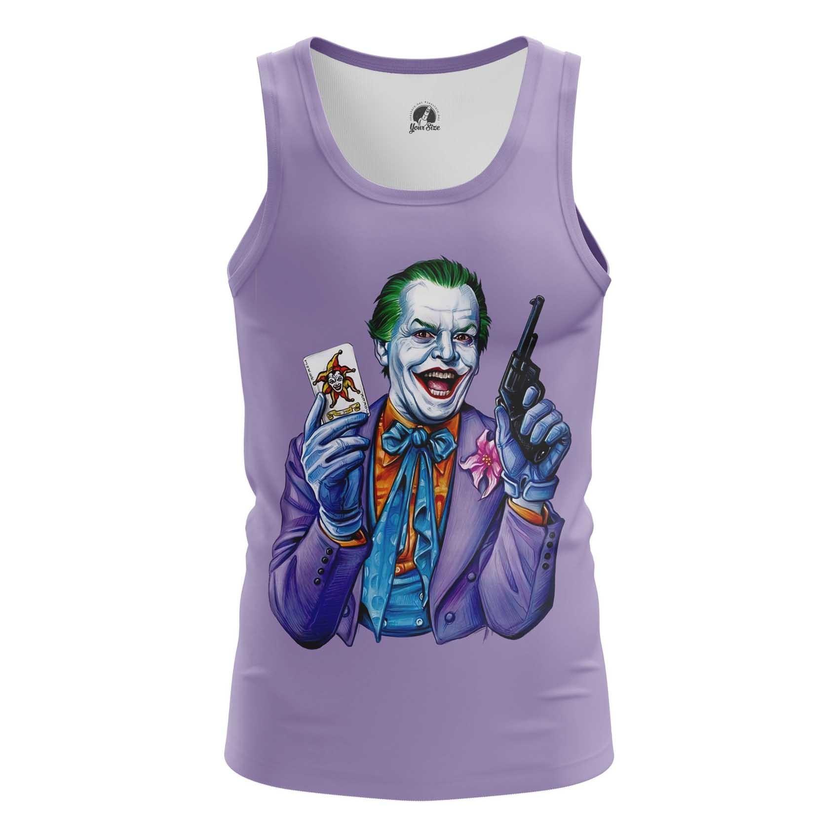 Merch Men'S Tank Joker Jack Nicholson Joker Vest