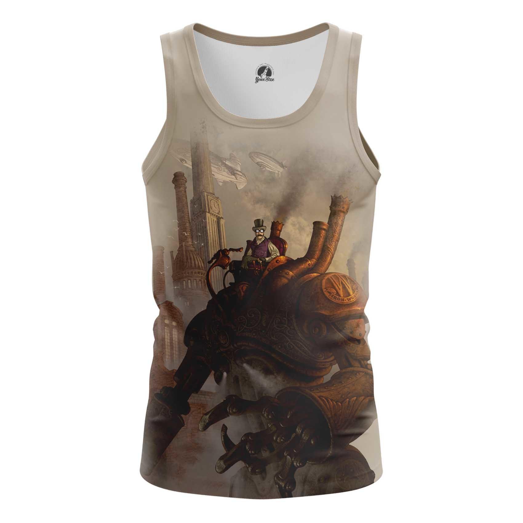 Merchandise Men'S Tank Steampunk Technologies Vest