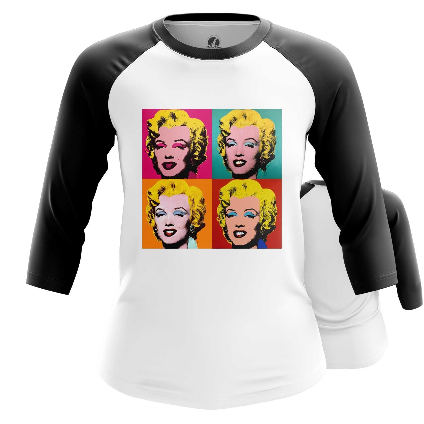 Merchandise Women'S T-Shirt Marilyn Monroe Andy Warhol Top