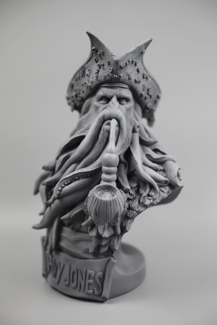 Collectibles Bust Davy Jones Pirates Of The Caribbean Statue Unpainted