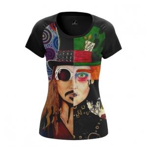 Merchandise Women'S T-Shirt Johnny Depp Alter-Ego Characters Top